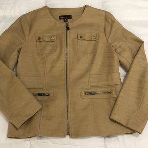 PERFECT Dana Bachman 6 Khaki Jacket Blazer Career